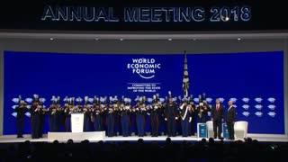 Lord Donald Trump Speaks at Davos 2018