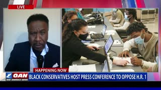 Black conservatives host press conference to oppose H.R.1 (Part 1)