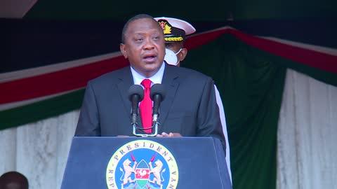 Uhuru Kenyatta Addresses Kenyans Live today