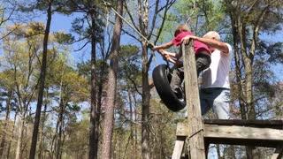 Epic Tire Swing