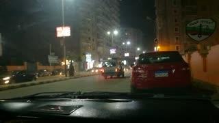 street camera records at night