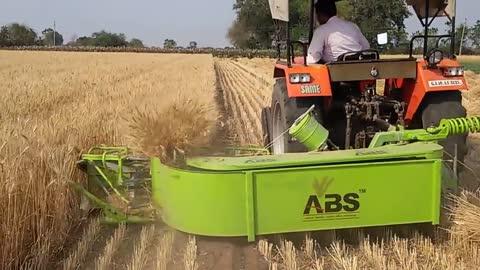 Reaper Binder Machine By Aditya Tractors Rajkot
