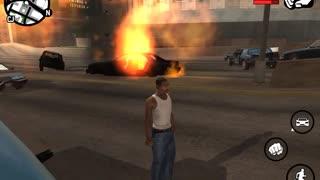 GTA car blast