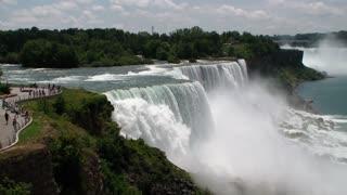 Spectacular view of Niagara Falls