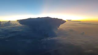 Thunderstorms Flashing
