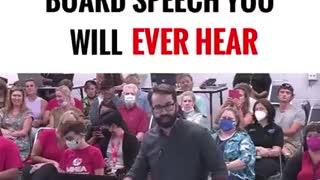 School Board Speech