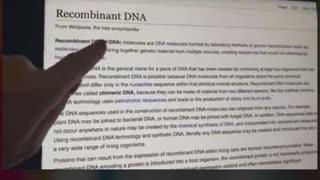 Covid Vaccine insert reveals horror ingredients!