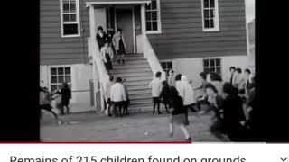 Remains of 215 children found on grounds of British Columbia residential school
