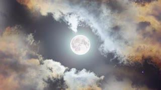 full moon light #white