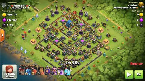 Clash of clans electro dragon attack