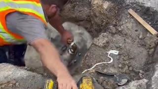 Water Service Work under Full Pressure