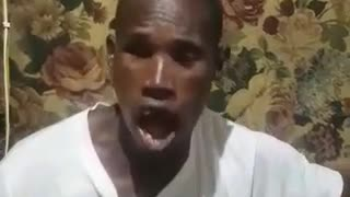 Funny African singing