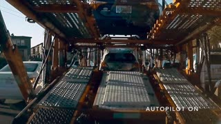 Autopilot Incident in Slow Traffic