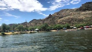 Jet Skiing on Canyon Lake