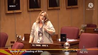 AZ State Sen. Kelly Townsend After RINOS Kill Election Bill