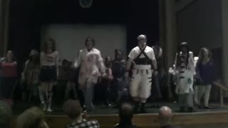 Massillon Thriller Dance 2012 at the Lincoln Theater