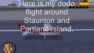 GTA 3 - Here is my flight on dodo plane around Staunton and Portland Island