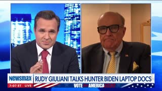 "SICK: Rudy Giuliani Reveals ""Very Sensitive"" Alleged Text From Hunter Biden"