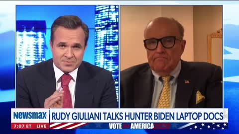 "SICK: Rudy Giuliani Reveals ""Very Sensitive"" Alleged Text From Hunter Biden"