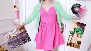 Vintage Dressing tutorial