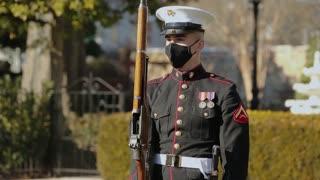 Parade Across America: Silent Drill Platoon