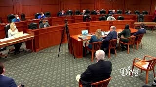 Hima Kolanagireddy gives evidence of election fraud before Michigan House