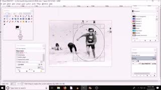 GIMP cropping