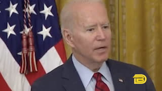 Biden whispers repeatedly during 'really creepy' Q&A