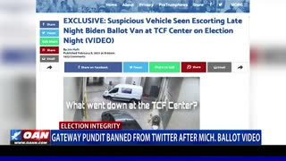 Gateway Pundit banned from Twitter after Mich. ballot video