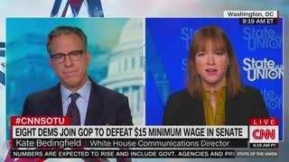 Jen Psaki: Biden 'Stands' At $15 Minimum Wage