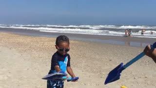 Blasian Babies Family Beach Days, Part 5