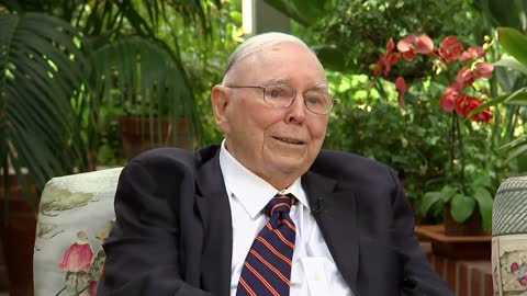 Munger Says Chinese 'Communists Did The Right Thing.'