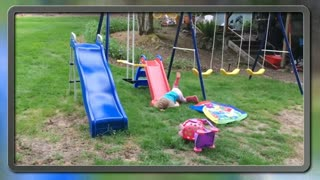 Funny Fails baby video clips || cute baby fall down video.