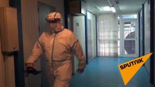 Медики провели более пяти тысяч ПЦР-исследований за три месяца работы мобильного госпиталя в Абхазии