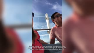 Cruise Passengers Scared And Don't Know What's Happening