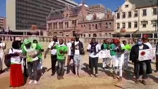 Unemployed graduates march 2020