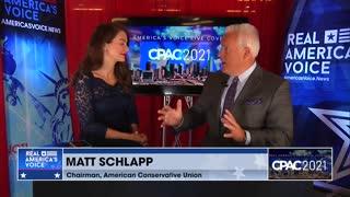 RAV Amanda Head's special interview with Matt Schlapp