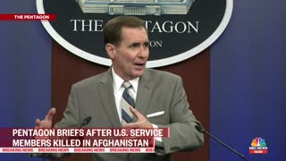 Pentagon Pressed On Security In Kabul