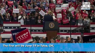 President Trump's first rally in months to be in Tulsa, OK