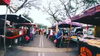 Night Market with Insta360 Go