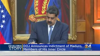 Nicolas Maduro Indicted by DOJ