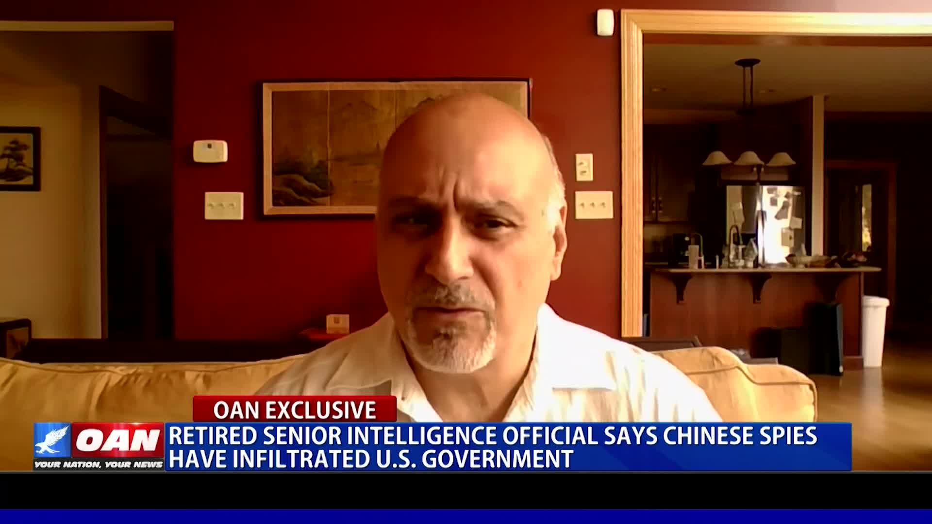 Retired Senior Intelligence Official Says Chinese Spies Have Infiltrated US Government! - One America News Network