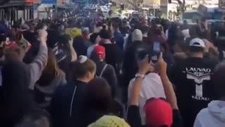 AUSTRALIA PROTESTING NO MORE LOCKDOWNS