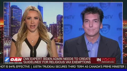 CNN Guest Suggests Biden Administration Create 'Guidelines' To Limit Religious Vax Exemptions