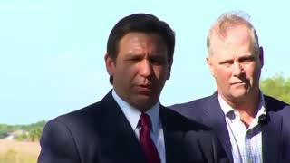 DeSantis Lays Into Biden After Border Visit