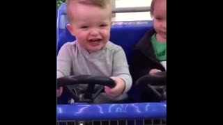 Funny baby video with their parents
