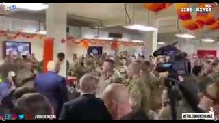 WATCH: President Trump pays a visit to the National Guard in Washington D.C.