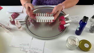 How To Make Nail Polish Red Mauve From Scratch
