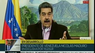 Maduro apunta a Guaidó por los fallidos ataques, la oposición guarda silencio