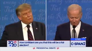 Trump calls out Biden on spying !